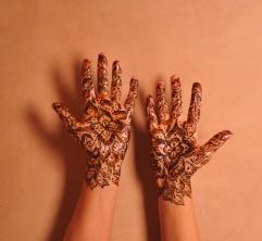 Dessins au henné